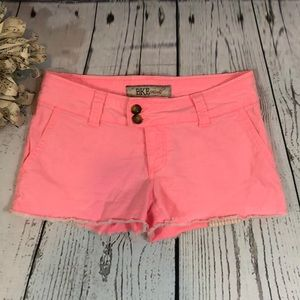 BKE Casuals Pink Trey Jean Shorts size 25